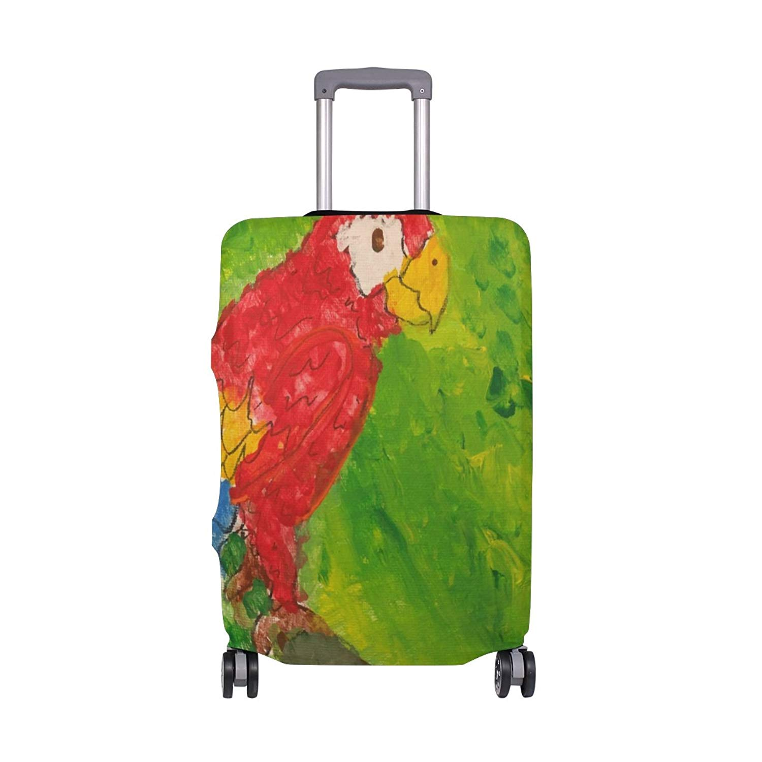 FOLPPLY Colorful Rainbow Tree Luggage Cover Baggage Suitcase Travel Protector Fit for 18-32 Inch