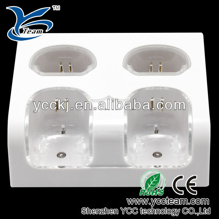 Hot selling for wii charger,remote controller charger dock,game accessories