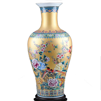 Ws Home Gold Large Floor Decorative Flower Vases Buy Floor