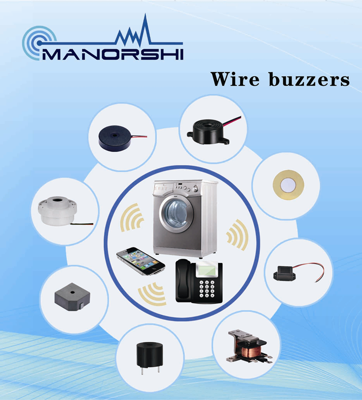 Chinese Supplier Low Voltage Buzzer Alarm Piezo Electronic Sound ...