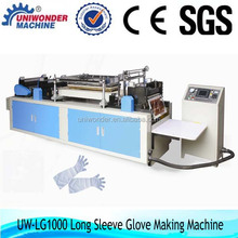 Automatic Disposable Medical Surgical Pe Long Sleeve Glove Making Machine