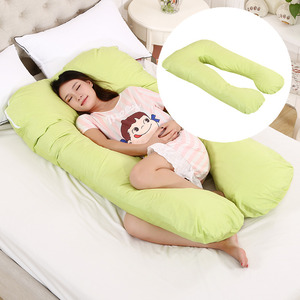 Big U Shape baby full body pregnancy pillow for Pregnant side sleeper For Side Sleepers Removable Big Pregnancy Pillow