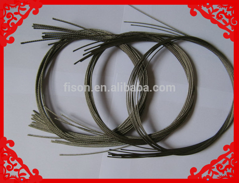 top quality stainless steel wire for cable and hose braiding