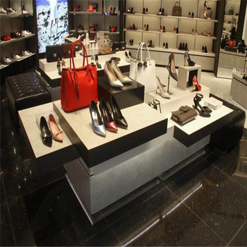 Gl Shoe Display Case And High End Furnitures For Stand