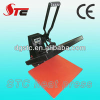 Dongguan sublimation leather embossing stamping press machine