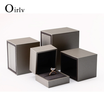 High Quality Microfiber Insert Jewellery Gift Boxes For Wedding Ring