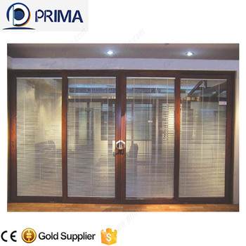 Good Quality Tinted Glass Interior Roller Shutter Door