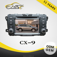 EXCELLENT QUALITY car radio gps for mazda cx9 navigation auto dvd player with backup camera