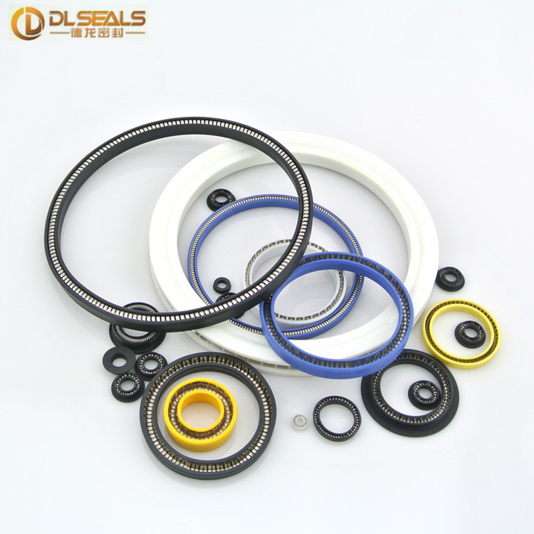 dlseals PTFE spring energized seal for dispensing machine