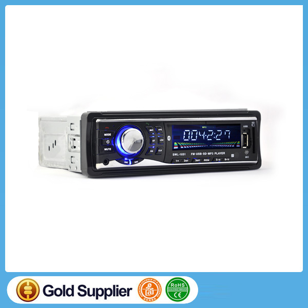 Car Radio MP3 Player 12V Car Audios FM Stereo USB SD 1 Din Remote Control In dash Auto Radios Aux-in SD USB MP3 MMC WMA