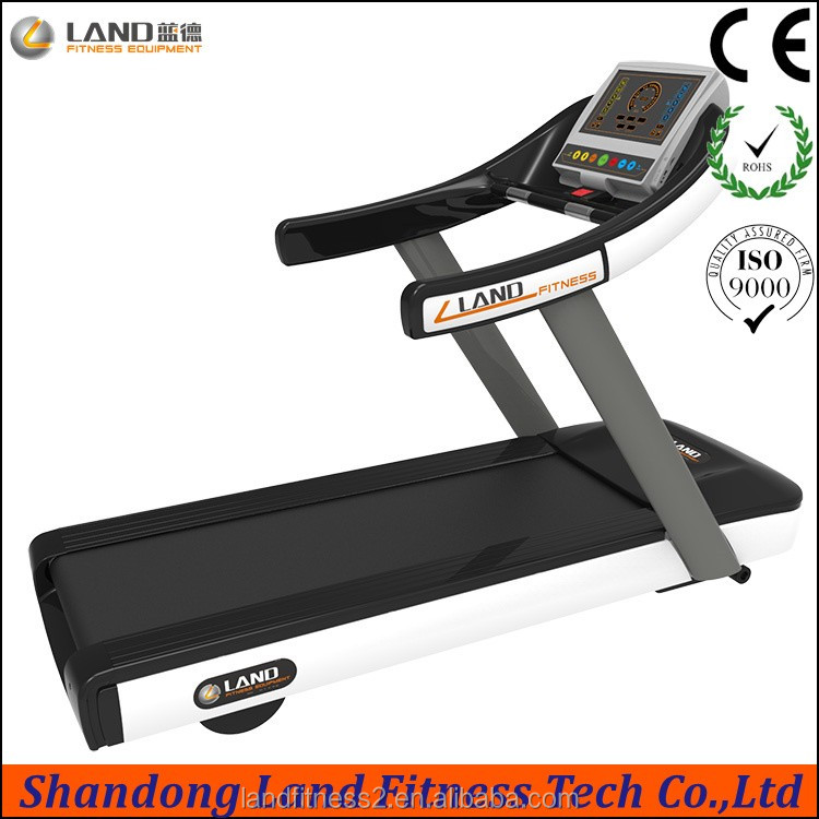 Commercial cardio equipment key panel screen treadmill