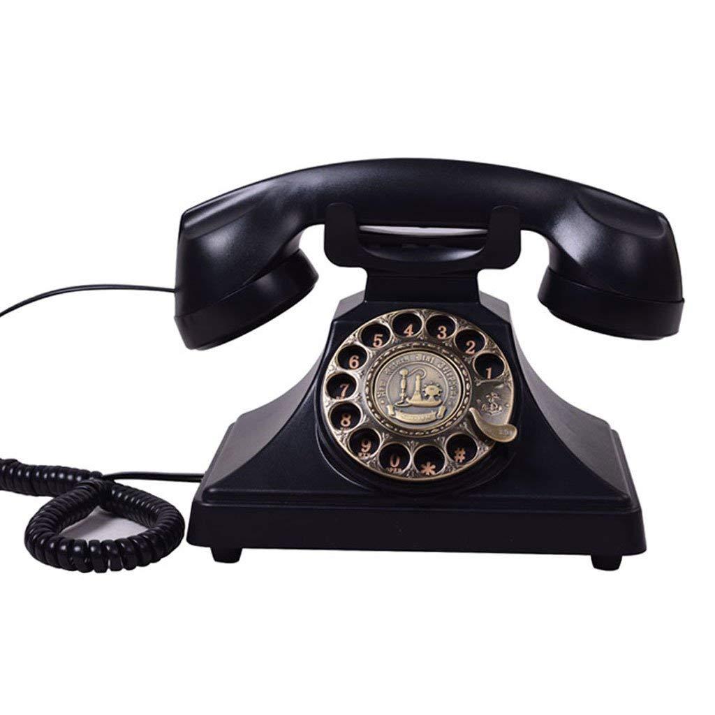 Edge To Corded Telephones European antique telephone fashion creative retro vintage antique furnishings American landline telephones Home living room phone