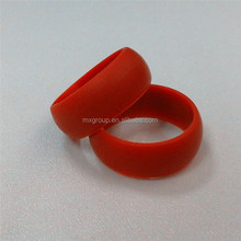 Creative personalized Customs Design Silicone Wedding Ring ,Europe standard customized owm logo Silicone Ring
