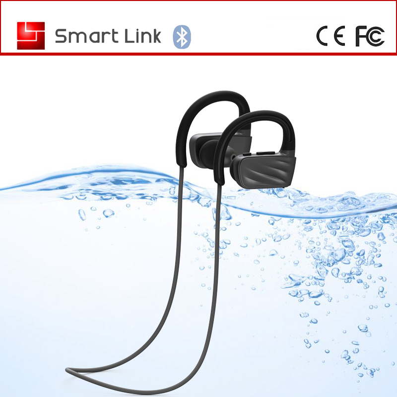 Professional factory universal IPX7 waterproof swim stereo bluetooth headset
