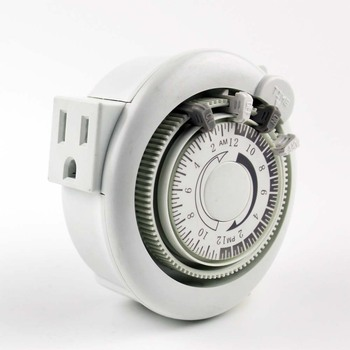 daily/weekly Mechanical rotary Timer switch