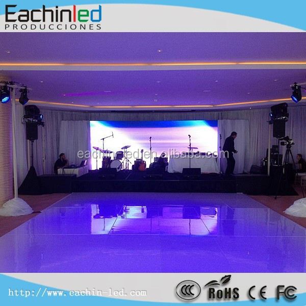 China full color high quality Super light and thin high definition rental p6.944 LED display