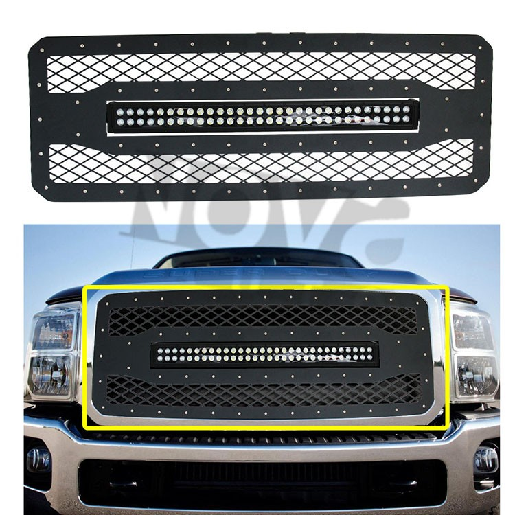 2011-2016 F Ord Super Duty F250/f350 Wire Mesh Stainless Grille ...