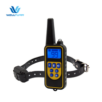 800 Meters Remote Control Dog Trainer WT880 Submersible IP67 Waterproof Dog Training Collar For 3 Dogs