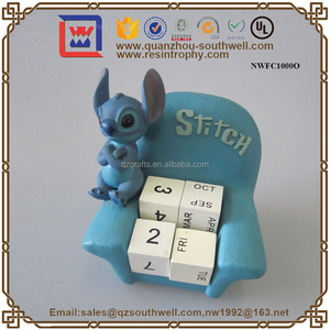Customize Cartoon Character Figurines With Resin Material Polyresin Character Statue