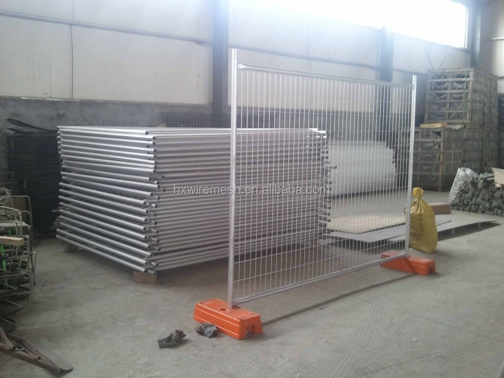 2017 Hot sale Welded wire fencing / construction site used temporary fence / New Zealand market removable fencing