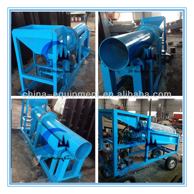 small capacity clay gold separation machine clay gold washing machine