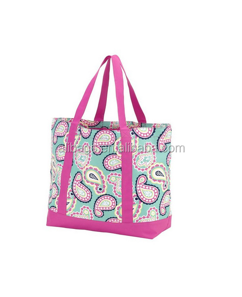 Decorative pattern Duty Polyester Tote Bags
