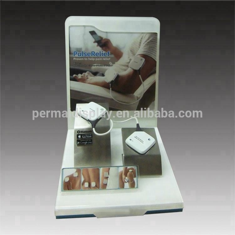 Elegant design acrylic table pos pop for blood pressure machine