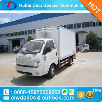 cc57055ef4 Forland 4 2 Mini Refrigerated Box Van Truck For Sale - Buy ...