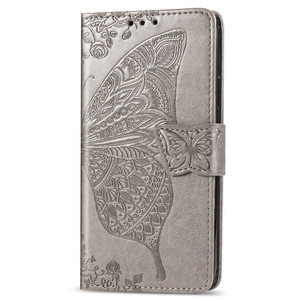 Fashion Butterfly Embossed PU Leather Flip Phone Case Cover for Samsung Galaxy M20 J7 S10 for LG Stylo5 for iphone XS XR MOTO G7