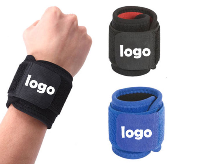 custom Hook and Loop wrist bands with elastic