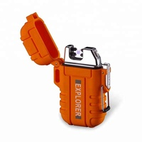 Wholesale Outdoor Survival Tools Waterproof electric arc rechargeable usb LIGHTER