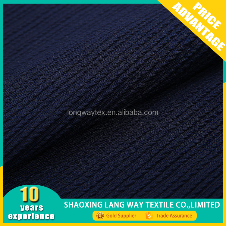 professional supplier comfortable modern embossed crepe chiffon jacquard fabric