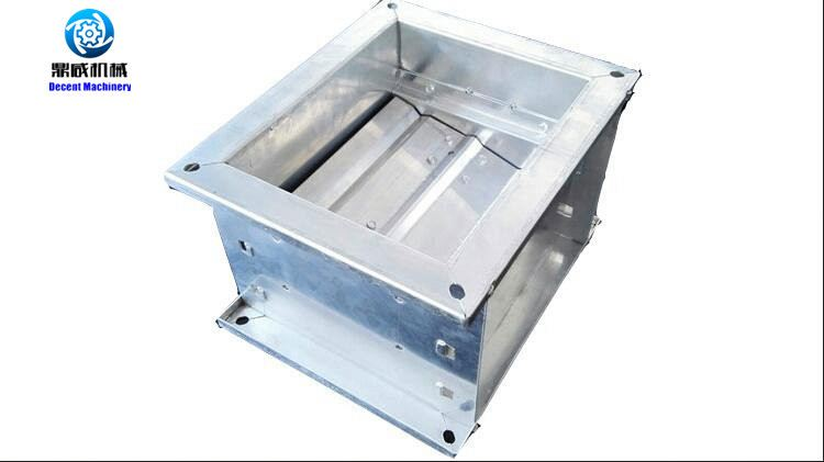 Motorized air flow control damper