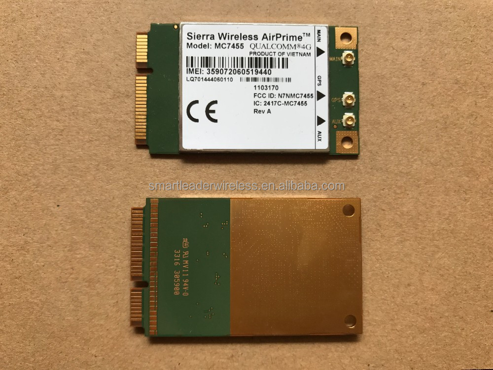 Qualcomm MDM9230 Chipset 4G Embedded Wireless Modules MC7455 USB 3.0