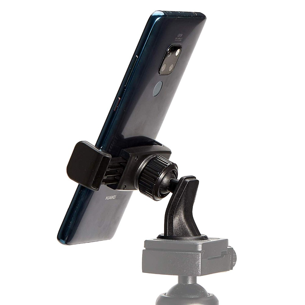 Most popular Flexible Cell Phone Tripod Adapter Mount Universal Clip for Mobile Phone