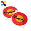 Custom circle paper stickers/custom labels offset printing