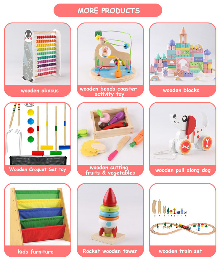 Baby Früh Pädagogisches Spielzeug Cartoon holz puzzle 3d holz spielzeug