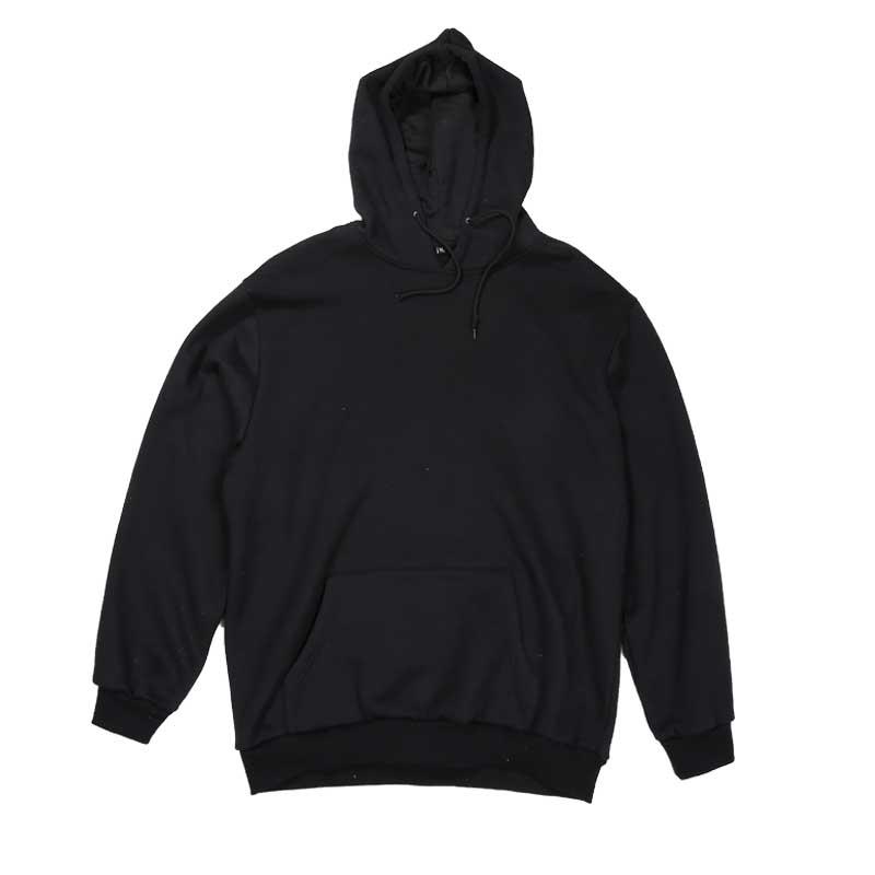 Blank Black Hoodie - Trendy Clothes