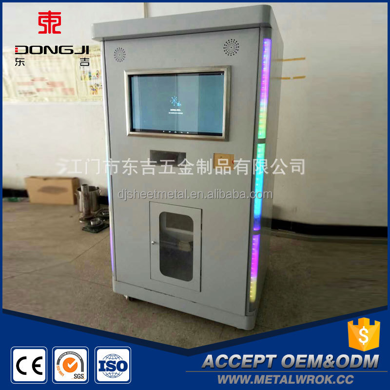 Chinese factory easy use vending portable rice milling machine