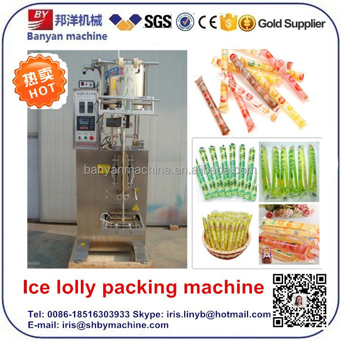 China Best offer for icepop packing machine