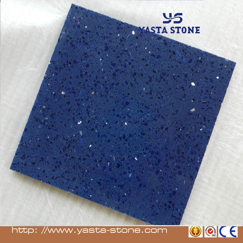 Cheapest Quartz Flooring Tile Starlight Blue Quartz Tiles - Buy ...