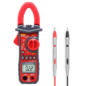 Best price Data Hold 600A AC Current 600V DC/AC Voltage Tongs Resistance Tester Digital Tong Tester