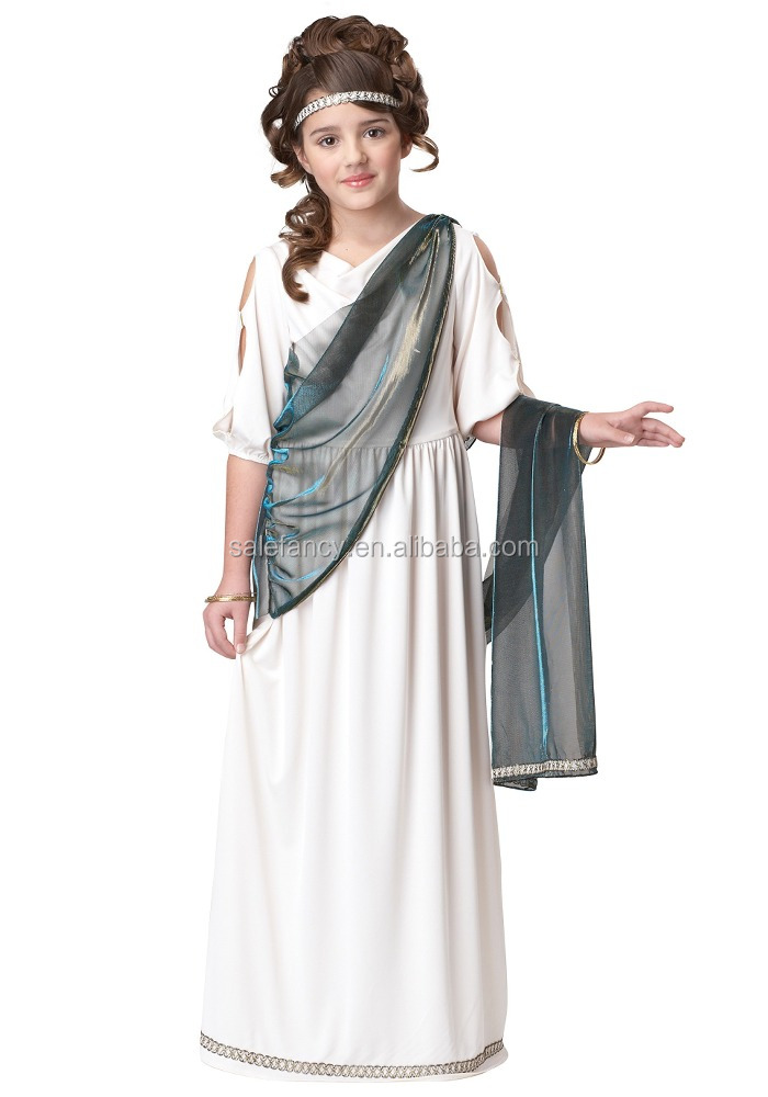 Greek Goddess Child Costume