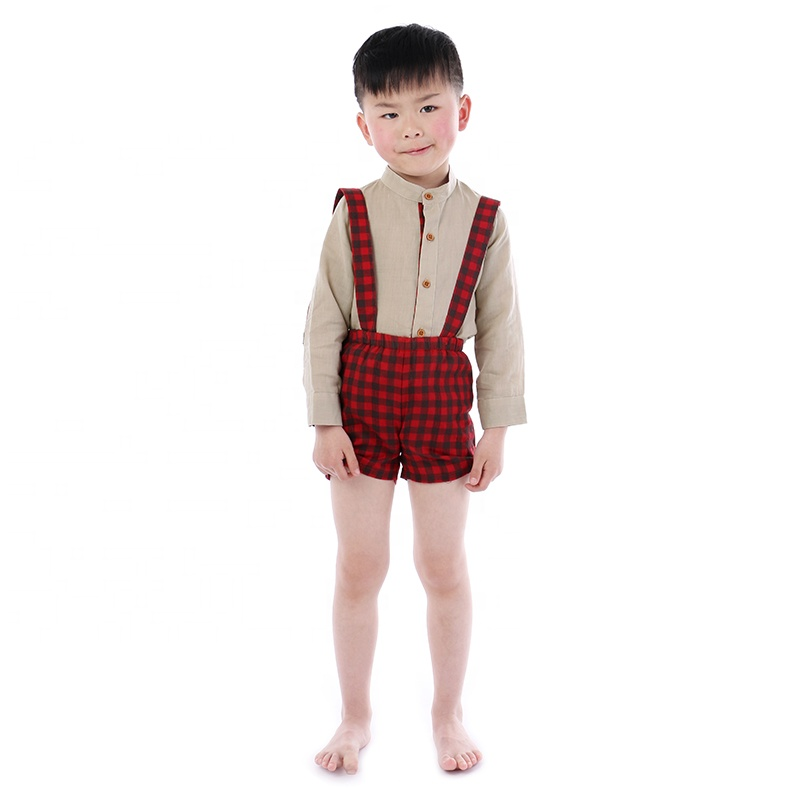 Fall Design boutique kids boy outfits sets autumn cotton kids children clothes set