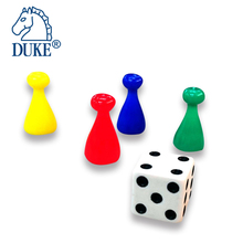 Board Game Accessories Pawns & Dice Set