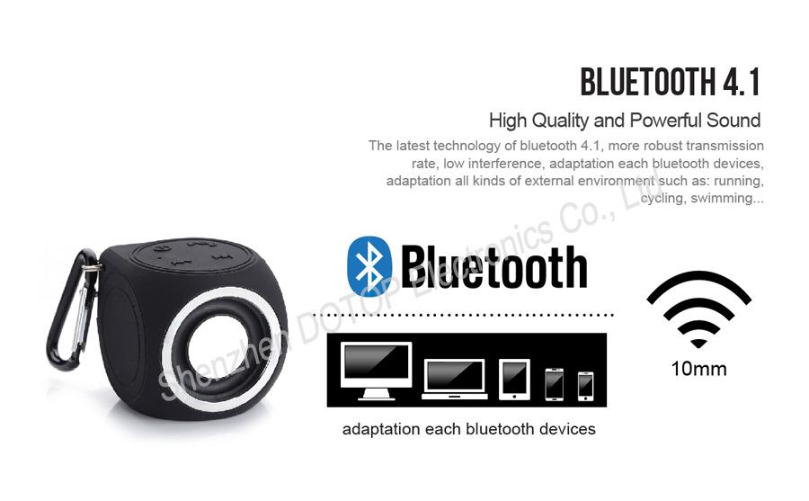 Ipx7 Waterproof Bt Speaker New Gadgets 2015,Active Speaker Noise ...