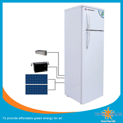 2017 New 42L/266L Solar Power DC Refrigerator for Home use