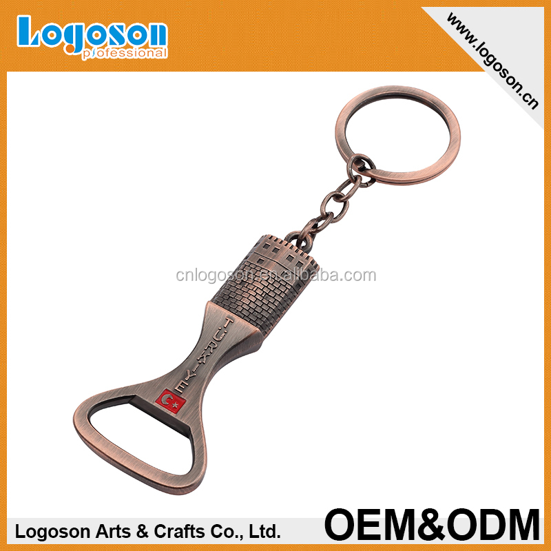 Custom Souvenirs Promotional Gifts Metal Beer Bottle Openers With Screw
