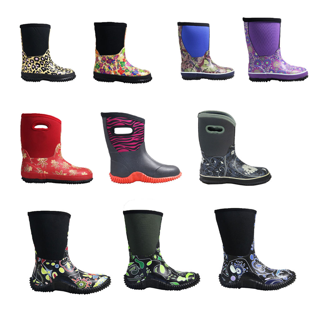 2015 Warm Winter Waterproof Muck Boots For Kids Manufacturer - Buy ...