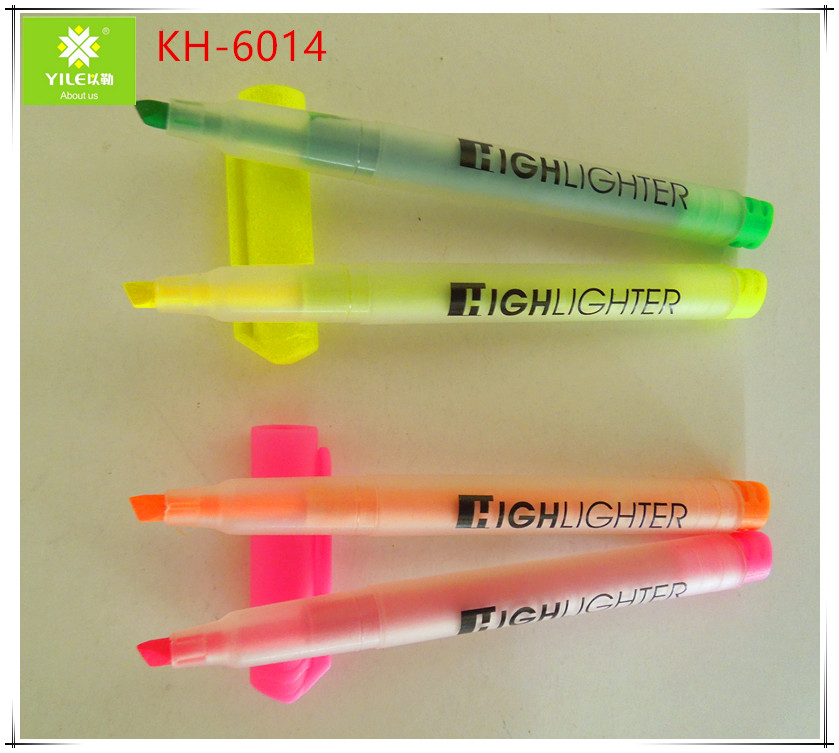 Promotional school stationery highlighters
